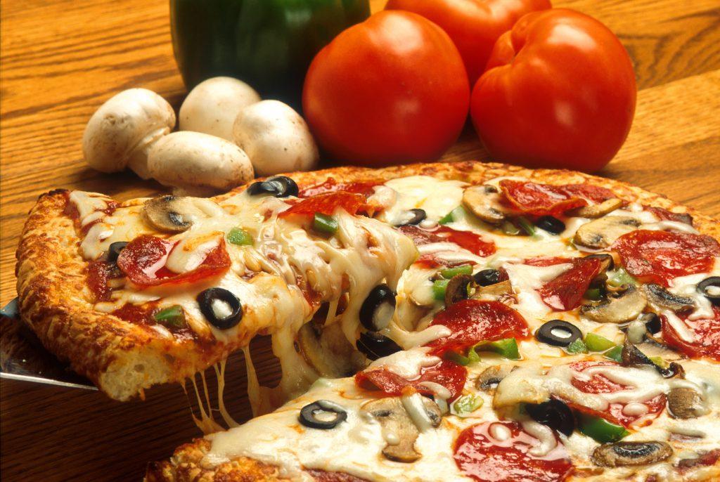 Pizza con Cerveza LANDRACE
